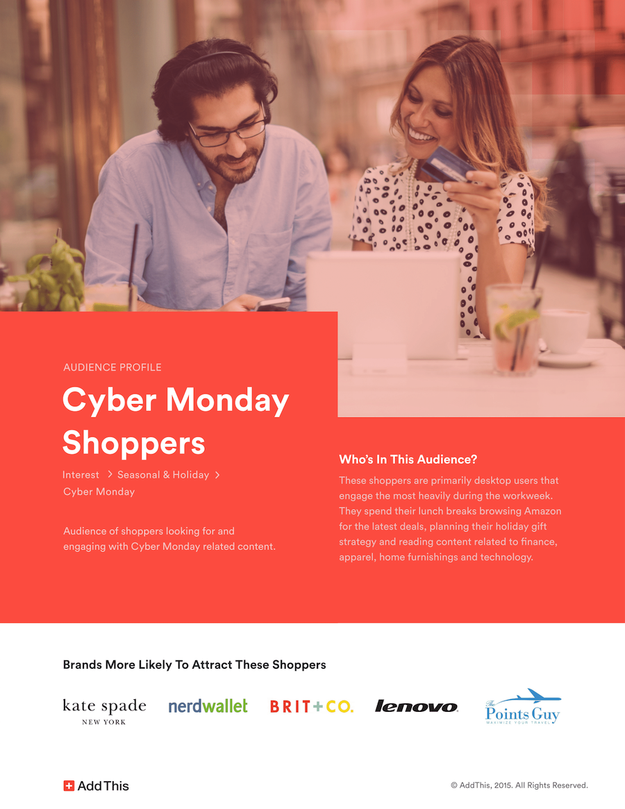AddThis Cyber Guide Shoppers 1