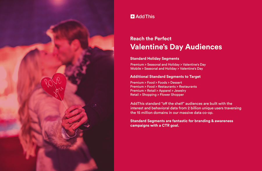 Reach the Perfect Valentine\'s Day Audience | AddThis Blog