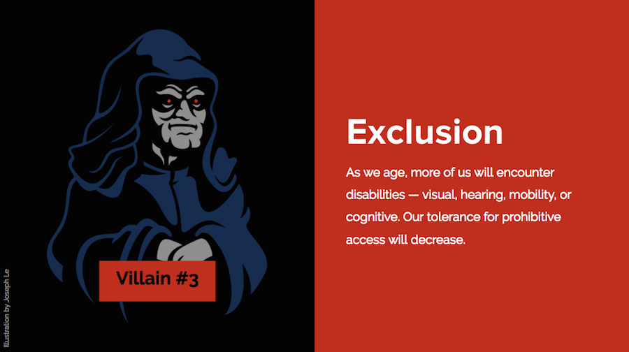 web design exclusion