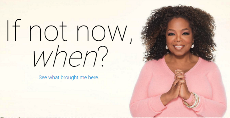 Oprah Weight Watchers website
