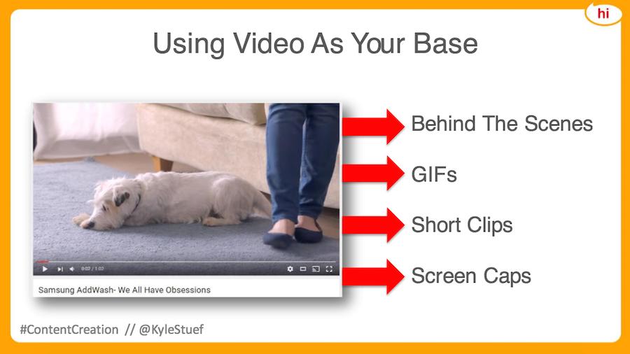 video content tree