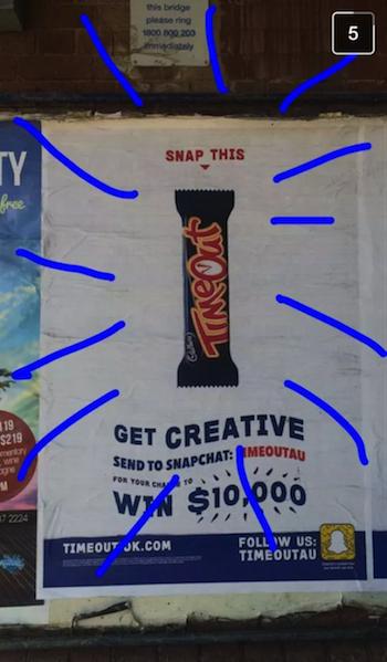 snapchat example