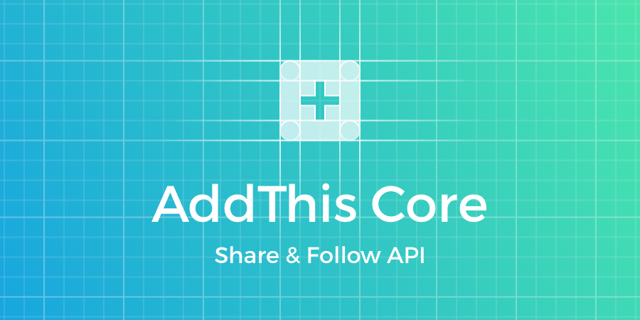 AddThis Core Share & Follow API