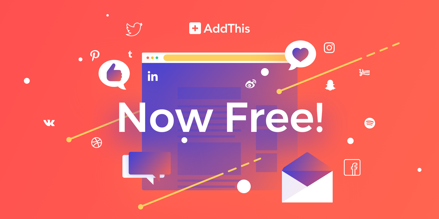 AddThis is Now Free!