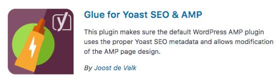 Glue for Yoast SEO and AMP Plugin