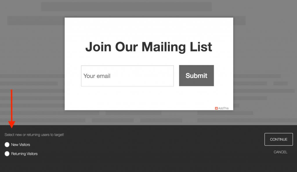 mailing-list-targets