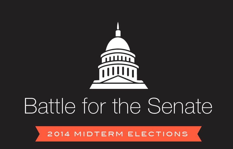 Midterm Election Predictions >> 2014 Midterm Elections: Our Senate Predictions [Infographic] - AddThis