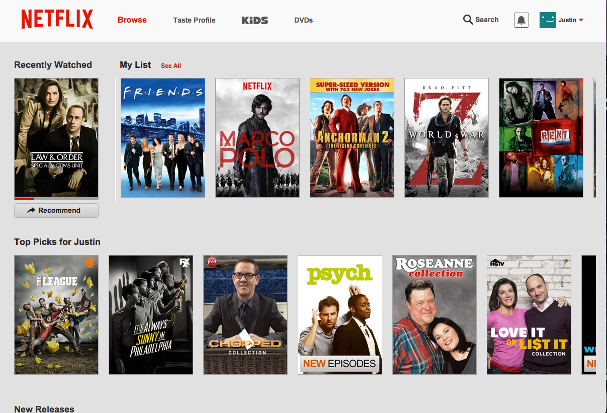 how to find different movies on netflix
