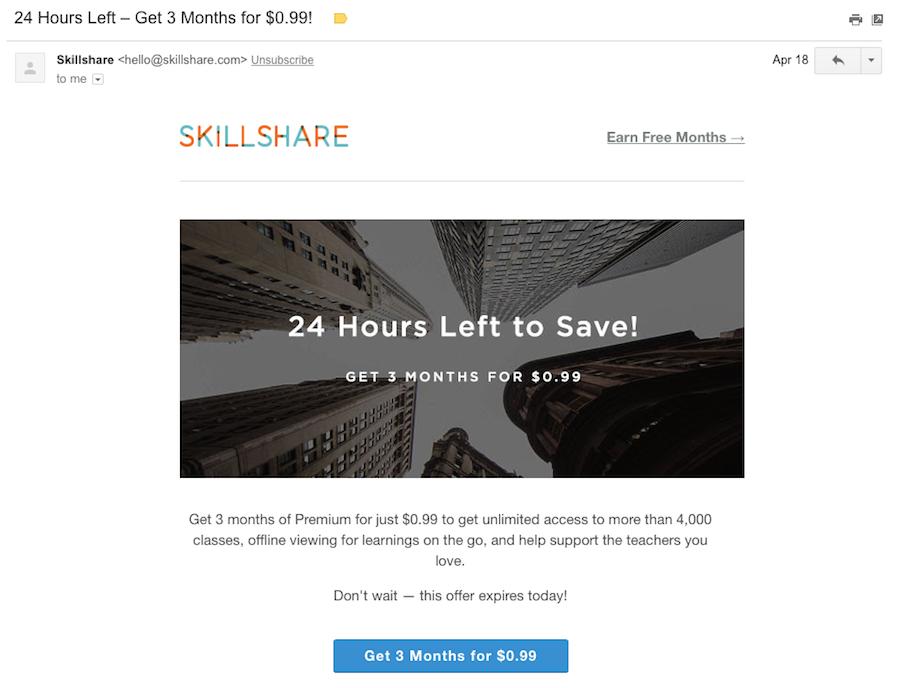 skillshare email