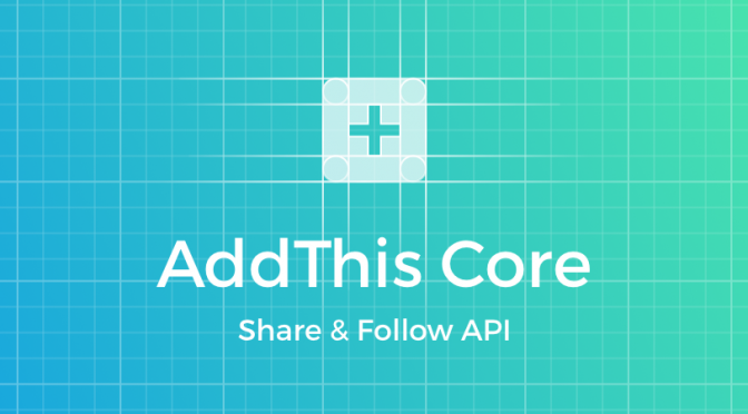 AddThis Core Share & Follow API - AddThis