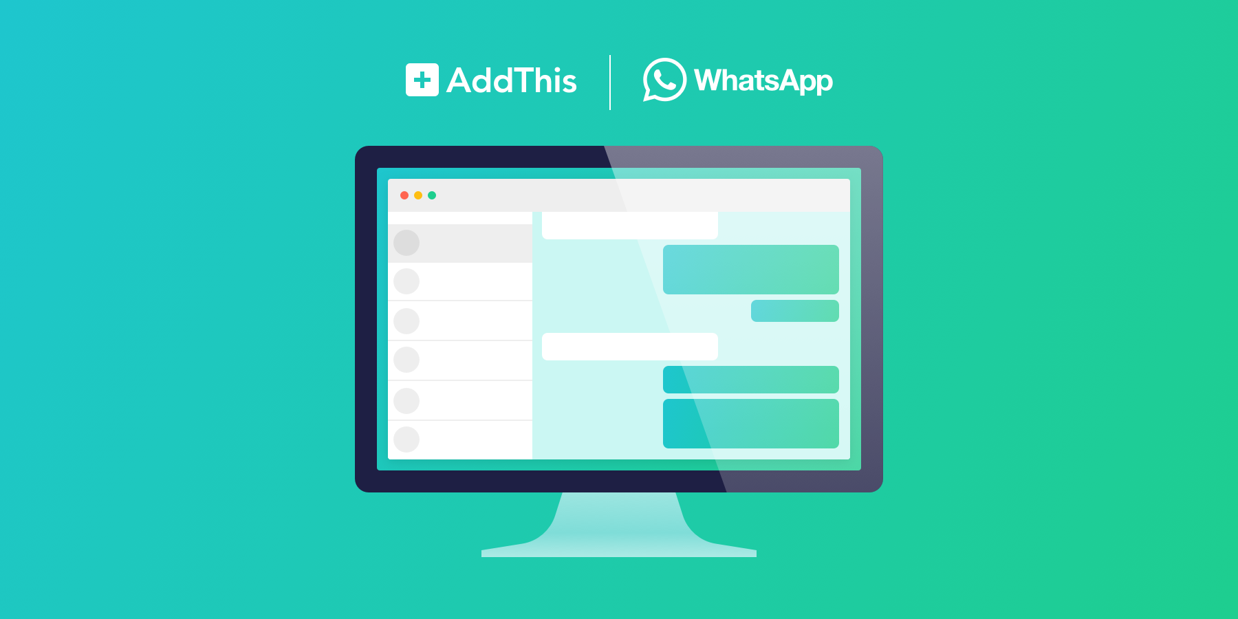 WhatsApp Sharing Now Available on Desktop - AddThis