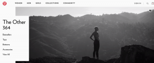 Lululemon Homepage Options