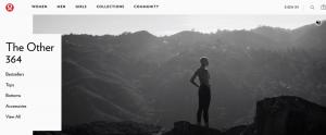 Lululemon Homepage Options