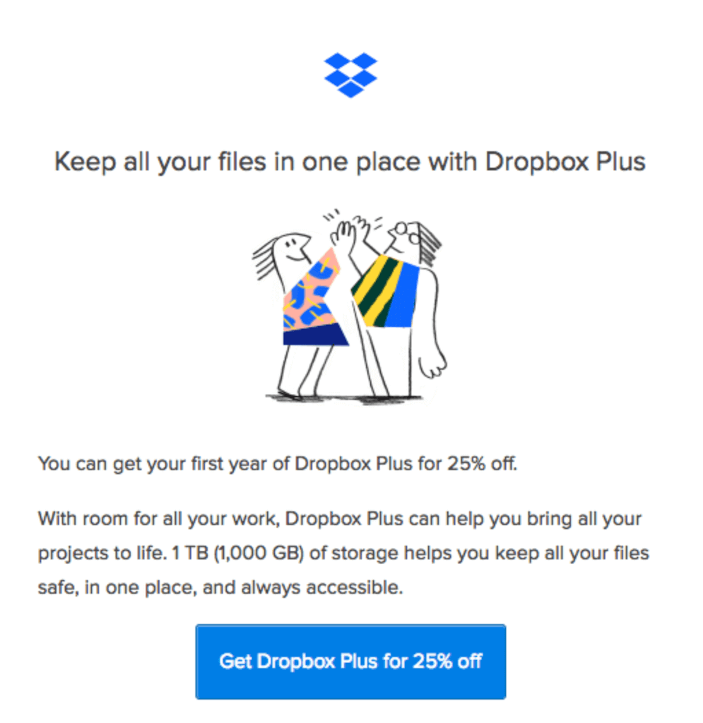 dropbox follow-up