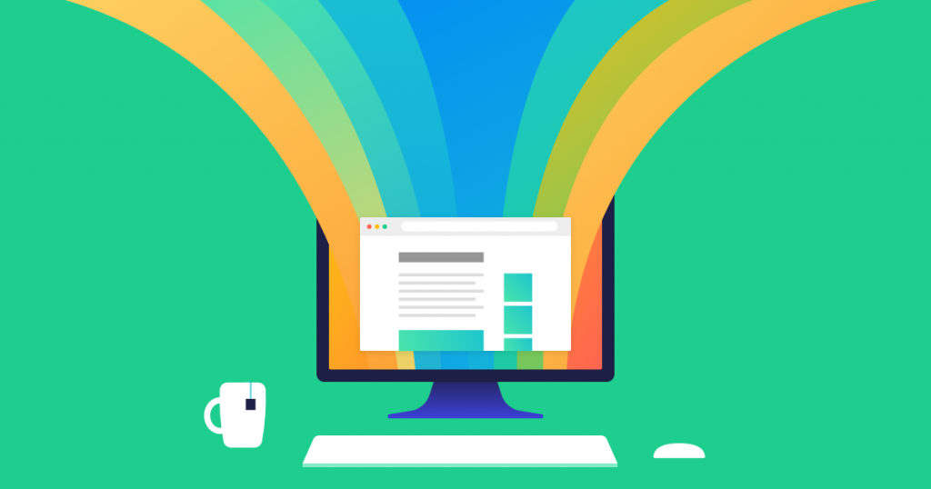 Ecommerce Landing Page Graphic